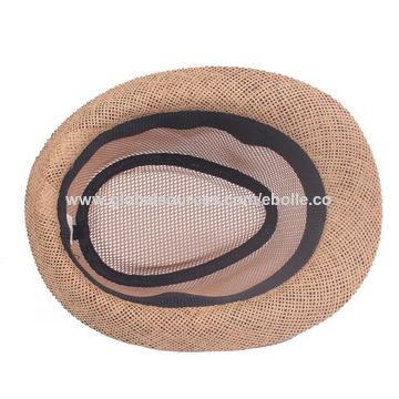 ce20fa9d8 China Unisex Hollow Style Straw Hat, Breathable, Comfortable on ...