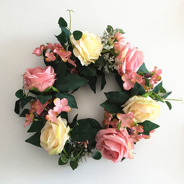 China Artificial Flower Garland For Christmas Decoration And Home
