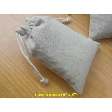 China Natural Linen Pouch Bags  E2 80 A2 Wedding Favor Bags Baby Shower Gift Bags Christening Gift Bags