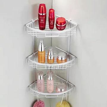 China Bathroom shampoo rack comer bathroom space savers shower ...
