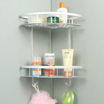 China Bathroom Shampoo Rack Corner E Savers Shower Holder