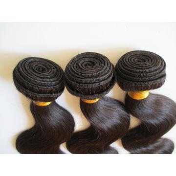 China New products virgin raw Filipino hair weave factory