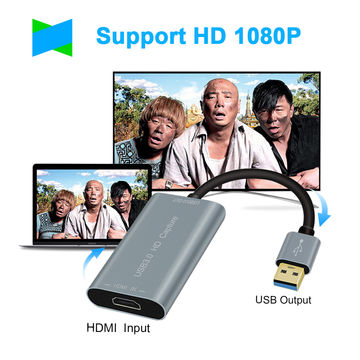 China HDMI Game Capture Card USB 3 0 HD Video 1080P 60FPS, Recorder