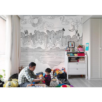Awesome ... China Gris* Graffiti Design Large Wall Mural Nursery Wallpaper Kids  Room Wall Decor HD ...