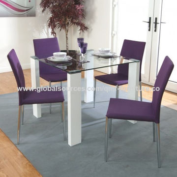 Beau ... Best China Clear Glass Dining Set, MDF Material, High Gloss, Factory  Made, ...