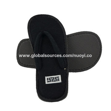 a5d9a82acf8172 China Terry cloth anti-slip flip flops hotel slipper wholesale on ...