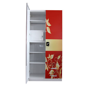 China Luoyang Mingxiu 2 Door Office Metal Storage Cabinet Diffe Colour Steel Almirah