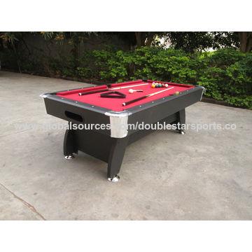 China Pool Table Used MDF Classic Billiard Tables ABS Adjustable - Classic billiard table