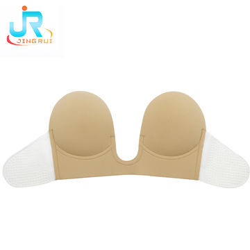 98d82e3042 ... China U-plunge Self-adhesive Backless Strapless Bra