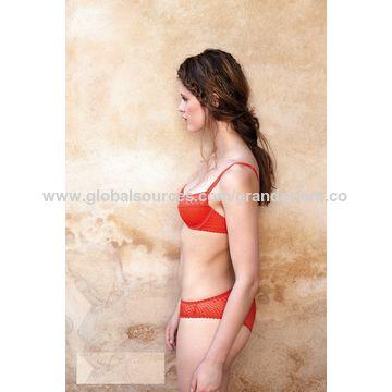 3dd2ecb14c85f ... China Fashionable Mesh Dot Bralette and Shorty Women s Underwear Sets  ...