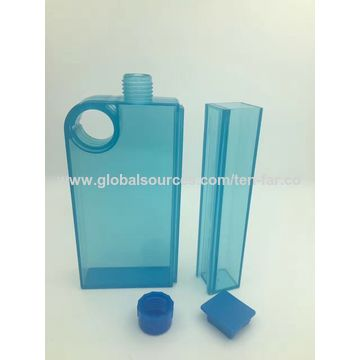 Flat Water Bottle >> China New Design A5 Flat Water Bottle With Container Bpa Free