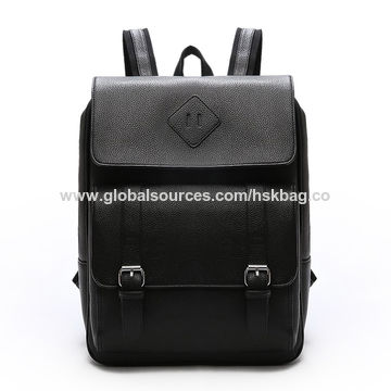 dcdc873b5c China Supplier Hot Selling High Quality Business Laptop PU Leather Men s  Backpack