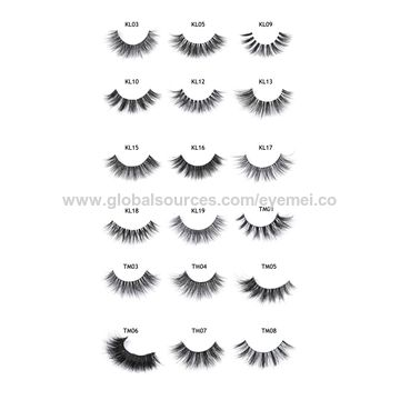19f4fef7b69 ... China 4Pcs Professional Artificial Eyelashes Magnetic Reusable Natural  Eye Lashes ...