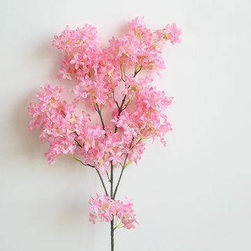 China Flores Artificiales De La Flor De Cerezo Para El Hogar Y La