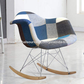 ... China Rocking Chair, Modern Living Room Chair, Fabric Relax Chair ...