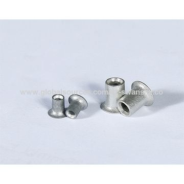 Metric flat head tubular rivets