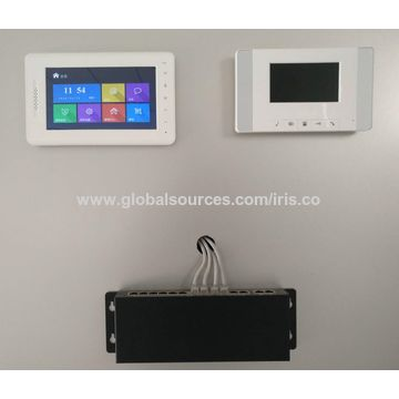 Apartment Intercom Android Video Door Phone Smart Bell With Face Recognition