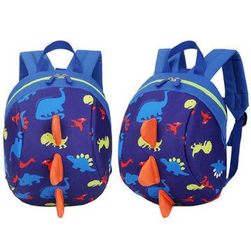 68268ed459b3 ... China Toddler Backpack Anti lost Band Kids Children Bag Dinosaur  Cartoon School Bag ...