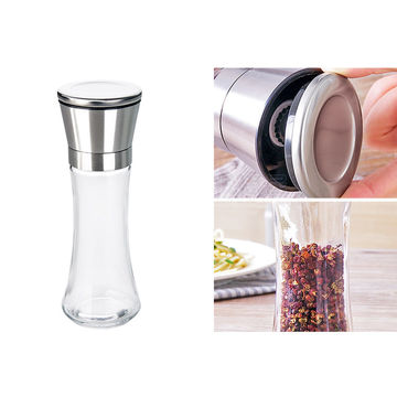 China Premium Stainless Steel Salt And Pepper Grinder Set Of 2