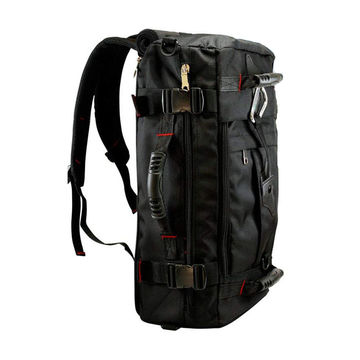 Waterproof Daypack Large Travel Bags Gym Hiking Men backpack Women For  Camera Laptop Emergency Gear 1a2fc3be91618