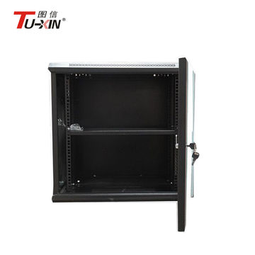 China Telecom Box Wall Mounted Cabinet With Glass Door Color
