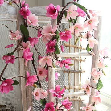 China Magnolia Vine Artificial Flowersgreat For Weddinghomeparty