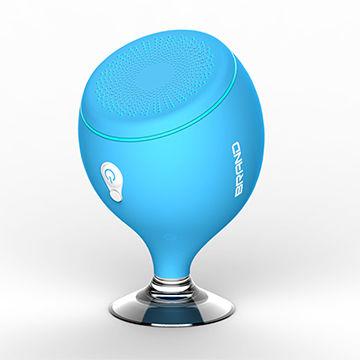 ... China Bathroom bluetooth Speaker waterproof sucker phone bracket speaker colorful lights hot on sale ...