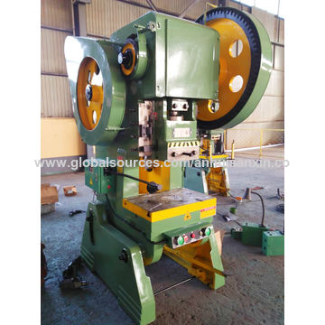 China Aluminum sheet metal punching machine/25ton power