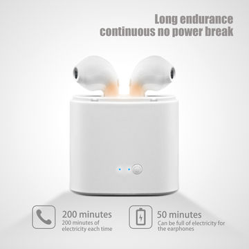 81abb17a226 ... China Bluetooth Earphone with Charging Box Wireless Earphone Noise  Cancelling Mini TWS i7s Headphones ...