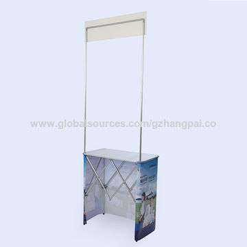 Exhibition Booth Table : China supermarket tables folding aluminum slat exhibition booth