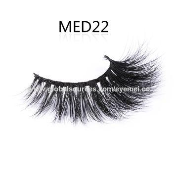 19c688a2036 ... China 3D Mink Fur Lashes False Handmade Natural Reusable Eyelash Luxury  Mink Lashes ...