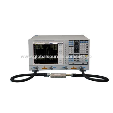 China Vector Network Analyzer, 100kHz~3GHz/8 5GHz on Global Sources