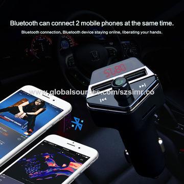 China APE6 Universal Car Bluetooth A2DP FM Transmitter GPS