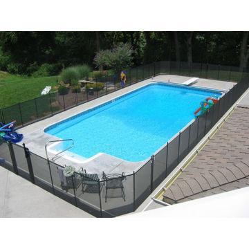 ... China Stylish Simple Design Cheap Portable Aluminium Swimming Garden  Fence Gate Child Pool Safety Fence ...