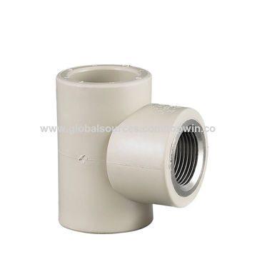 China PPR Pipe Fitting Male and female Thread Tee pipe