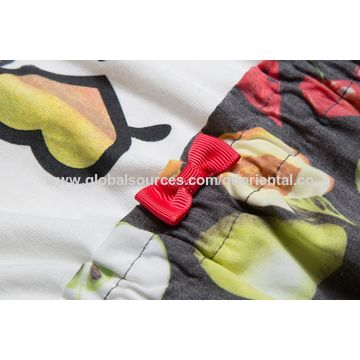 ae3203ac6bc5 ... China Girl's sleeveless dress with fruit designed children's summer  wear girl's clothes