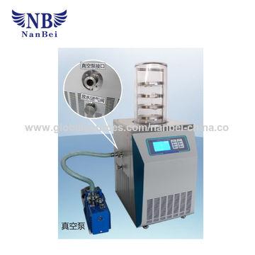 China Mini freeze drying machine price, vertical type cheap