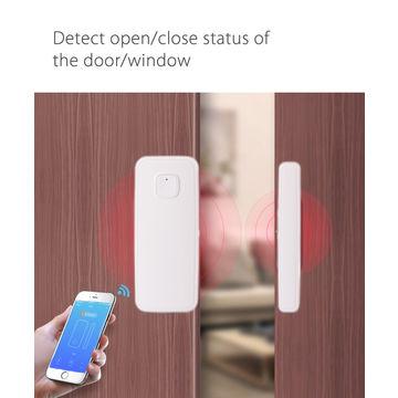 China Wi-Fi Smart Door Window Sensor Tuya Smart Life APP Compatible
