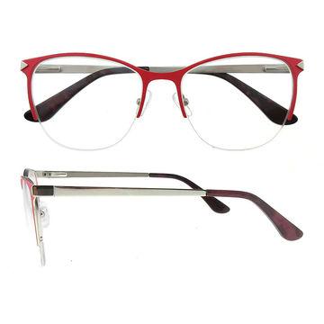 China Top quality rectangular metal eyewear optical eyeglasses ...