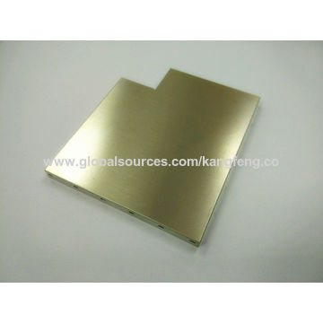 China 0 3mm EMI/RF Shielding cover, Made of Nickel Silver Alloy or