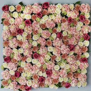 China Oem Artificial Silk Flowers Wedding Party Stage Decoration