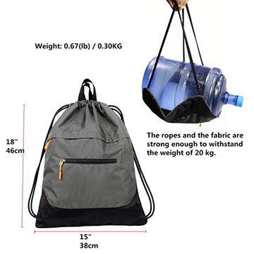 417164291 China La bolsa de asas de la prenda impermeable de la mochila de Gymsack  del saco ...