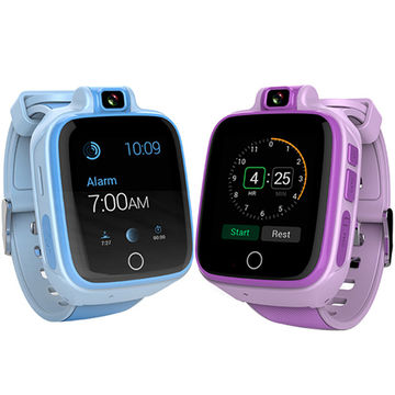 e34b8c0de7ce 4G Kids  GPS Tracking Smart Watch Video Call SOS Heart Rate Blood Pressure  Anti-lost Watch Phone