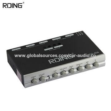 China 4 Band Good Quality Pre Amp Car Equalizer Car Eq Car Audio