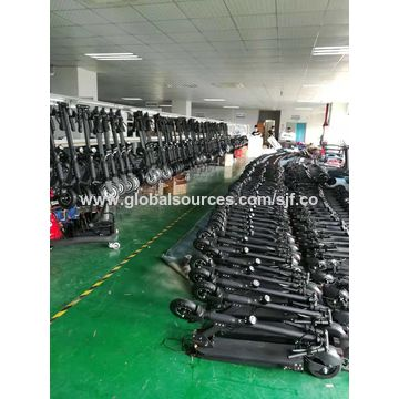 China Factory Slide Electric Scooter disc brake Aluminium