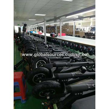 China Factory Slide Electric Scooter disc brake Aluminium