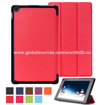 China Smart Leather Cases for Amazon Kindle Fire HD10 on
