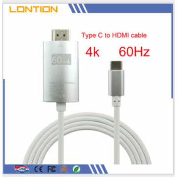 USB-C USB 3.1 Type-C to HDMI Adapter 4K*2K UltraHD For Lenovo Xiaoxin Air 12 AU