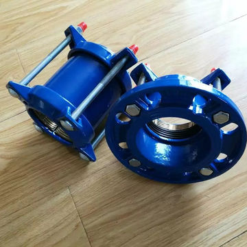 China ISO2531,EN545 Ductile Iron Restrained flange adaptor