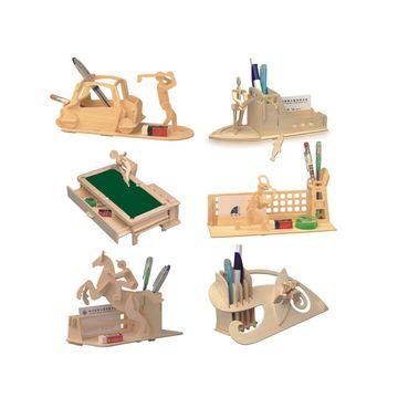 China New Favorable Imaginative DIY 3D Simulation Model Wooden